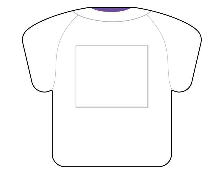 紙うちわ(野球)デザインテンプレート0063