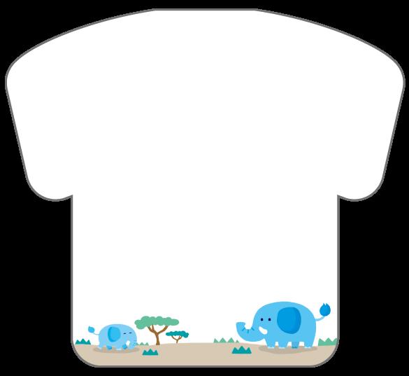 紙うちわ(ユニフォーム)デザインテンプレート0237