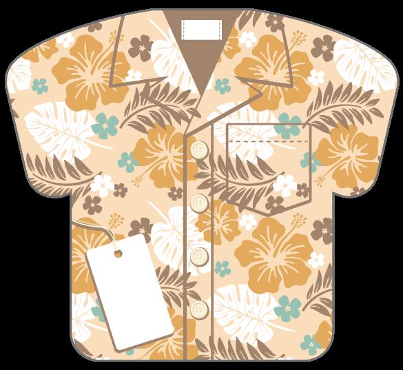 紙うちわ(ユニフォーム)デザインテンプレート0244